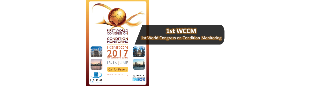 1st World Congress on COndition Monitoring